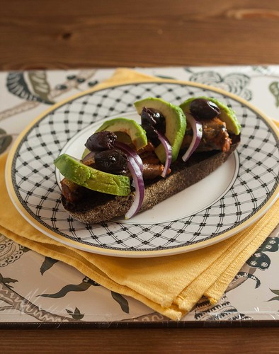 Sardine and Avocado Bruschetta (3 of 5)