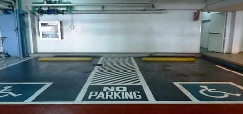 Parking for PWDs