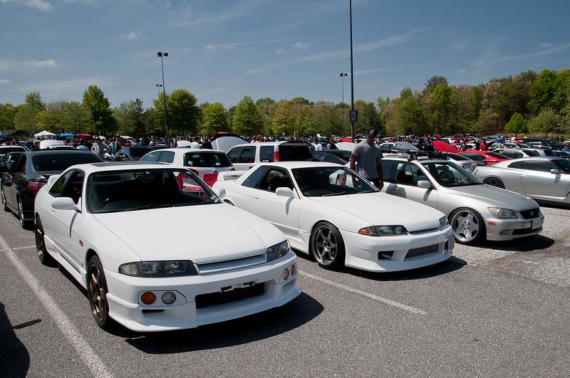 Pair of Nissan Skylines