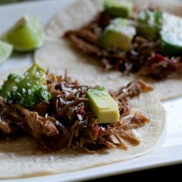 Shredded Pork Tacos (Crock Pot)