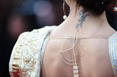 deepika padukon tattoos