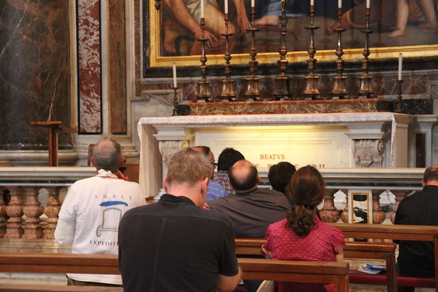 In St. Peter's Cathedral