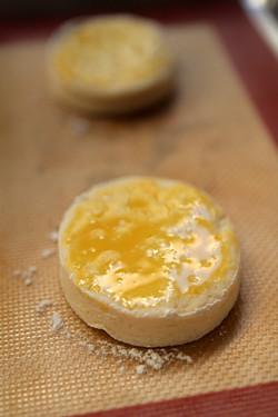shortcake biscuit - peach shortcake