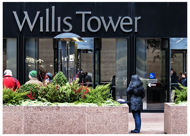 In Front of Willis Tower