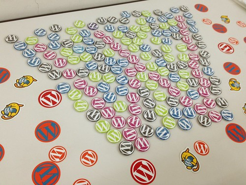 WordPress Badges and Stickers