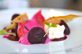 Tasting of Green Croft beets | The Terrace At Mission Hill