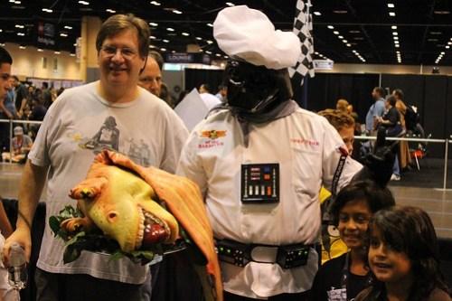 Darth Chef - Star Wars Celebration VI