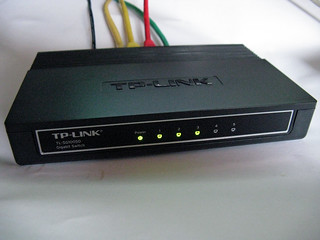 The new TP-LINK TL-SG1005D Gigabit Switch
