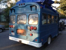 Blue Bus, Strathcona