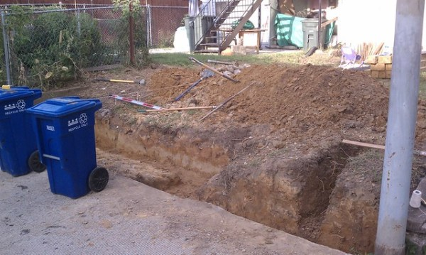 Excavation complete