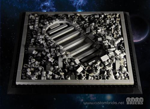 Lego Astronaut Footprint