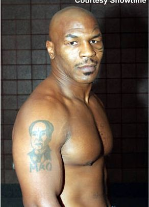 mao tattoo of mike tyson