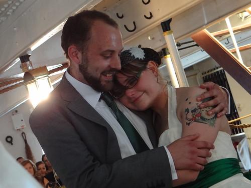 Me and Dave hug