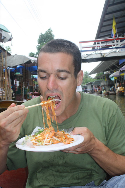 Pad Thai at the Floating Market