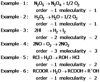 CBSE Class 12 Chemistry Notes: Chemical Kinetics   Molecularity of Reaction Image by AglaSem