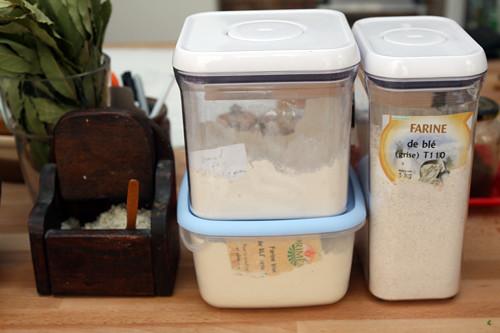 flour and salt