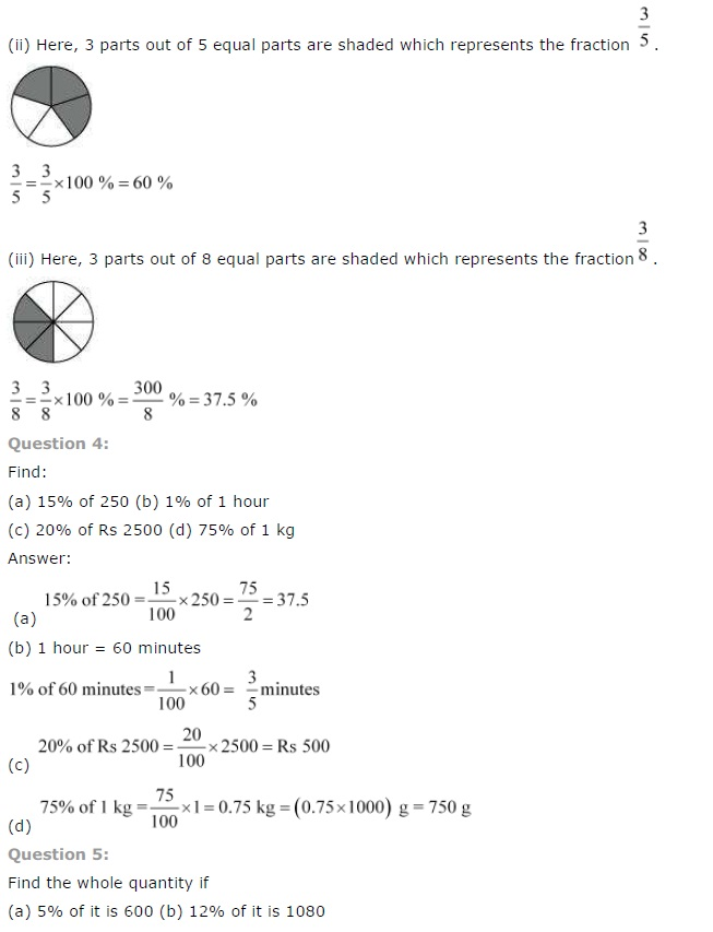 NCERT Solutions for Class 7th Maths Chapter 8   Comparing Quantities Image by AglaSem