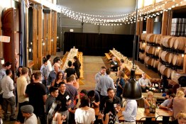 Vancouver Urban Winery inaugural wine dinner
