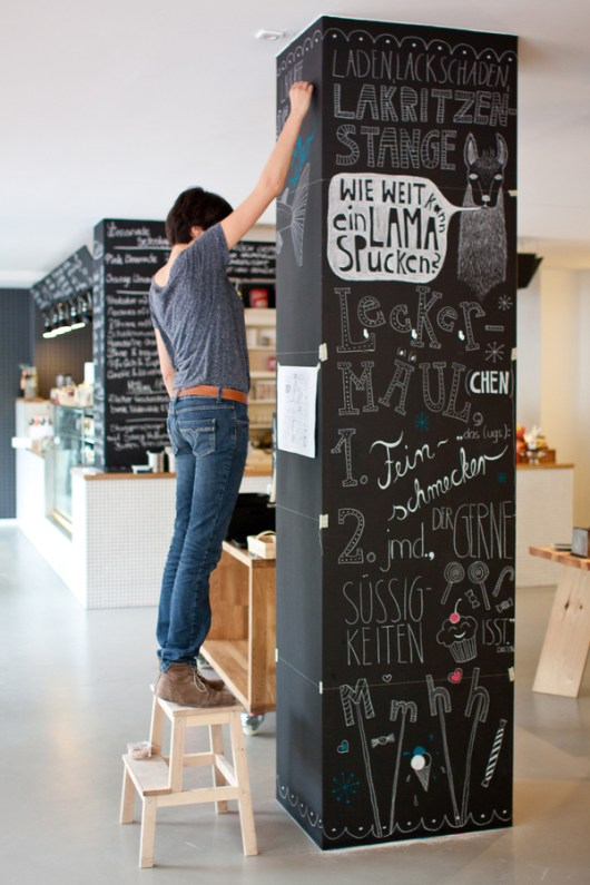 Chalkboard Illustrations at Ladenlokal