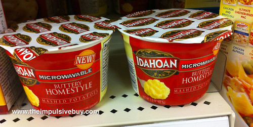 Idahoan Microwaveable Mashed Potatoes