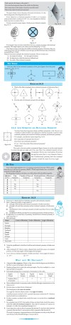 NCERT Class VII Maths Chapter 14 Symmetry Image by AglaSem