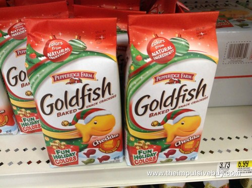 Holiday Colored Goldfish