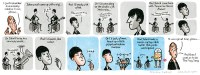 Stephen Collins cartoon: the Beatles