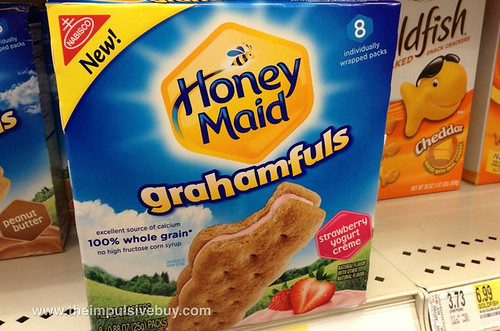 Honey Maid Strawberry Yogurt Creme Grahamfuls