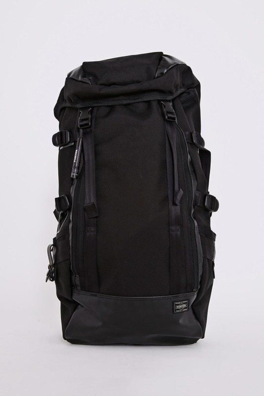 Head Porter Black Large Backpack