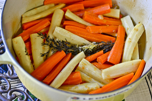 Orange-Braised Carrots & Parsnips 10