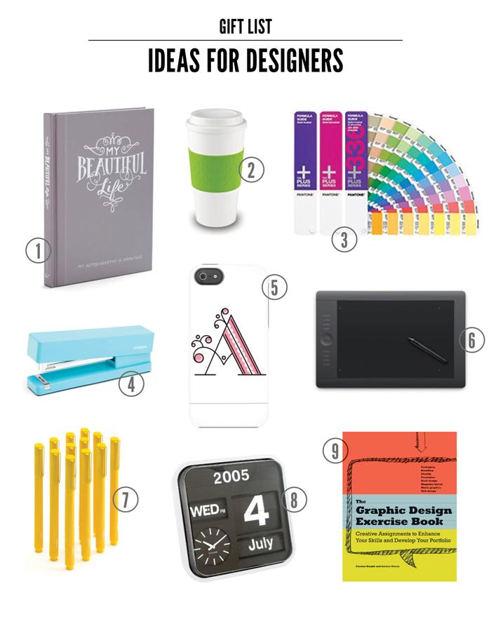 My Favorite Gift Ideas for the Designer