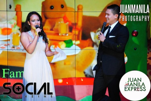 Sarah Hernandez and JC Cuadrado hosted SM Mall of Asia Grand Christmas Tree launch.