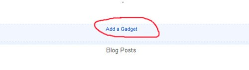 ad gadget blogspot