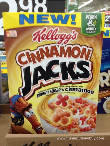Kellogg's Cinnamon Jacks