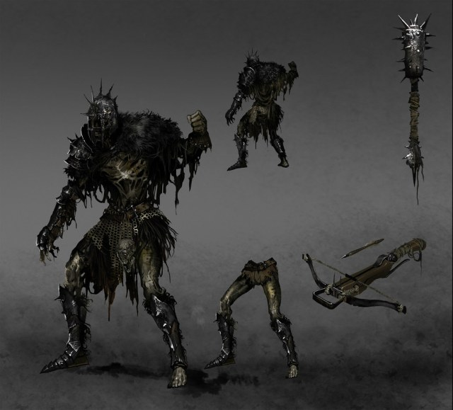 Dark Souls 2 Concept Art