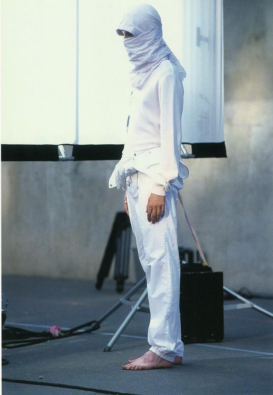 Raf Simons Redux  Spring-Summer 2002. Alexander. Photographed by Kurt De Wit. Grooming- Peter Philips. Paris, 2001.