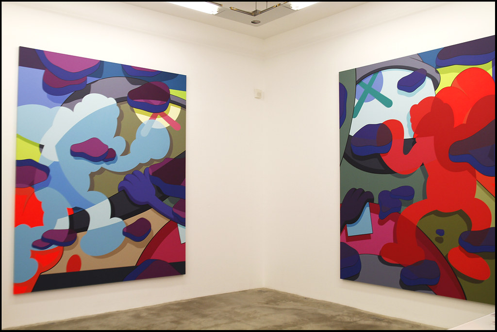 "Tuukka13 - KAWS Exhibition ""Imaginary Friends"" at Galerie Perrotin, Paris - 12.2012 - 6"