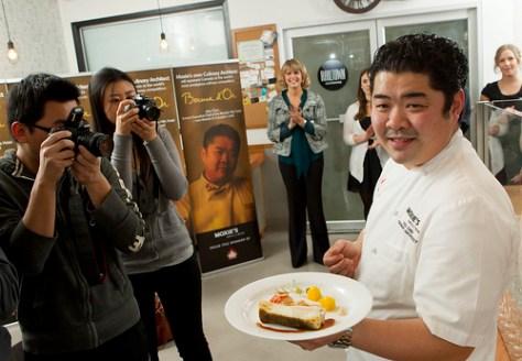 Chef Alex Chen Presents Fish DIsh