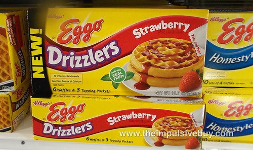 Eggo Strawberry Drizzlers