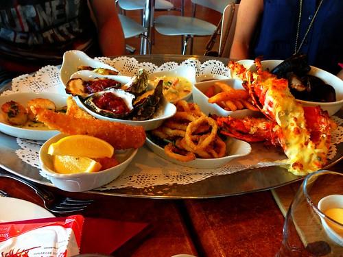 Red Cray Executive Seafood Platter