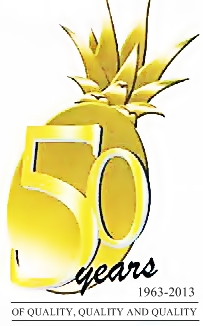 dolefil 50th logo