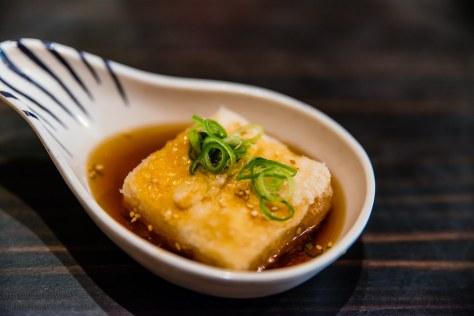 Sushi Samurai - agedashi tofu