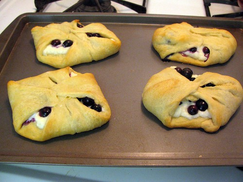 Cheater Blueberry Danishes