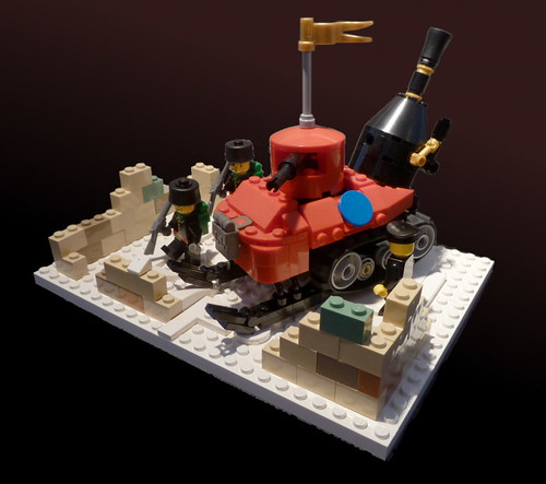 "Imperial Land Navy ""Petit éléphant"" (небольшого слона)"