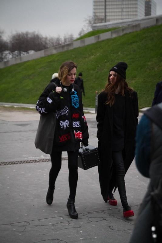 Tuukka13 - Street Style Outside Rick Owens Womens FW 13 RTW Show - Paris Fashion Week -5