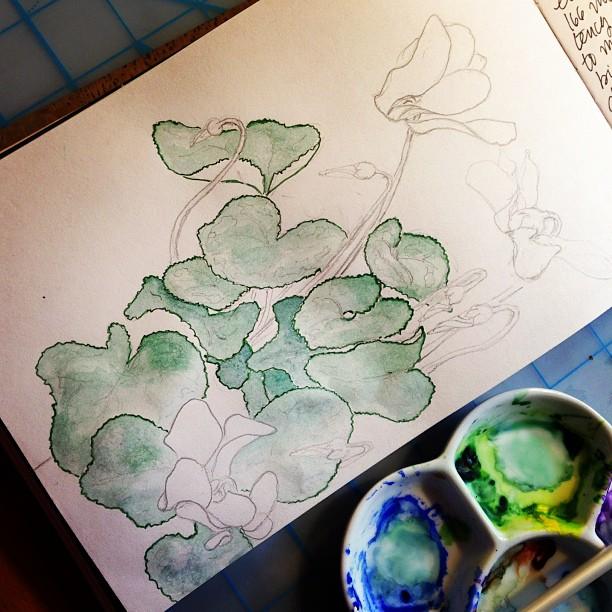 Adding a little green....