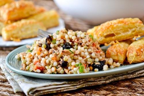 Israeli Couscous Tuna Salad-13