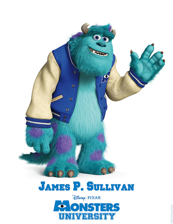 Monster University - James P Sullivan