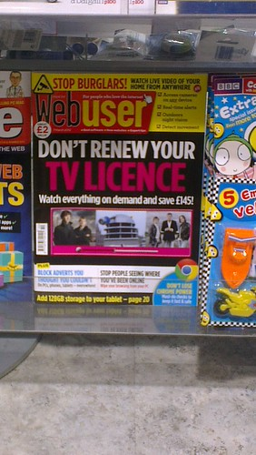 Webuser says Don't renew your TV Licence