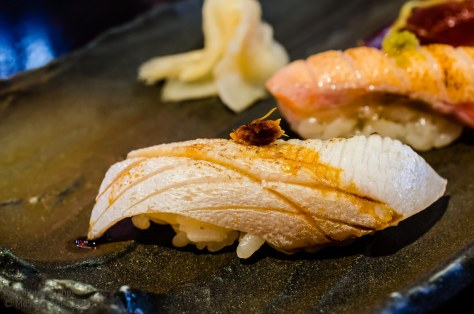 Ocean Room kingfish nigiri